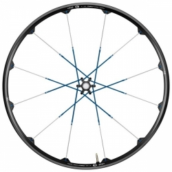 CRANKBROS Wheelset Cobalt 3 Black/ Blue 9+135mm-pár