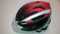 BELL CHICANE 2 bleck/red/White 54-61cm