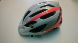 BELL CHICANE 2 titanium/orange/White 54-61cm